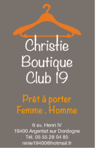 CHRISTIE BOUTIQUE CLUB19